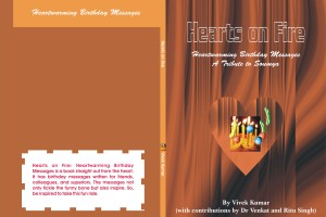 """Hearts on Fire (Heartwarming Birthday Messages)"" by Vivek Kumar"