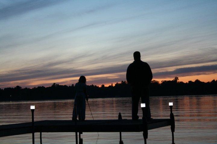 Daddy & Maddie Fishing