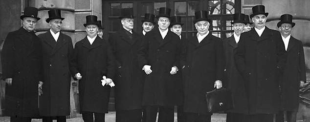 The_cabinet_of_Sweden_1939_and_prime_minister_Hansson
