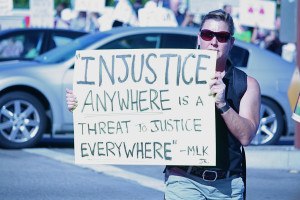 Martin Luther King Injustice Anywhere