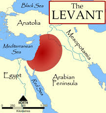 Levant Map of ISIL's goal
